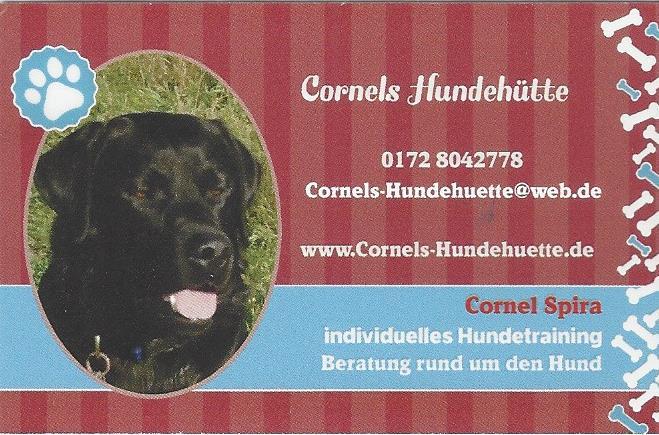 Visitenkarte Cornels Hundehütte