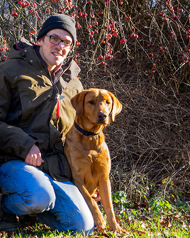 Boris mit Hund