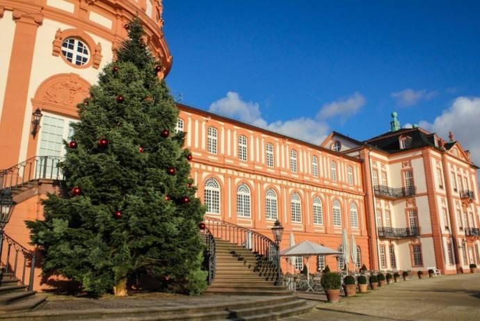 Außenansicht, Biebricher Schloss, Wiesbaden