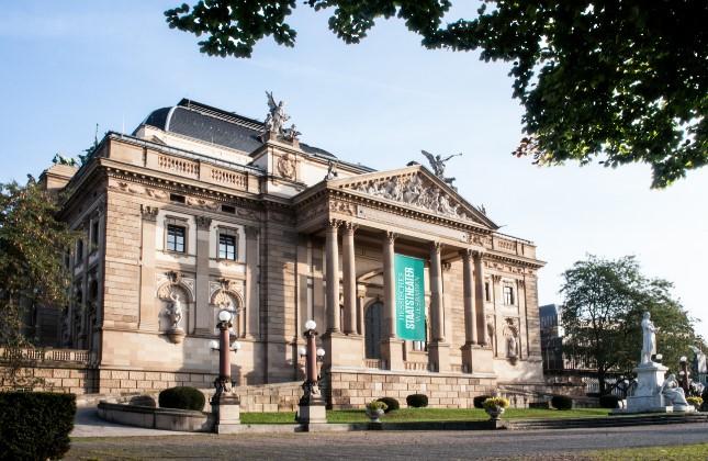 Theater, Wiesbaden, Außenansicht