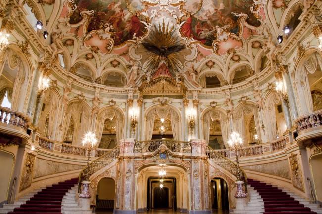Theater, Wiesbaden, Foyer, Großes Haus