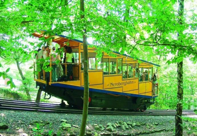 Nerobergbahn, Wiesbaden, Ausflug, Neroberg