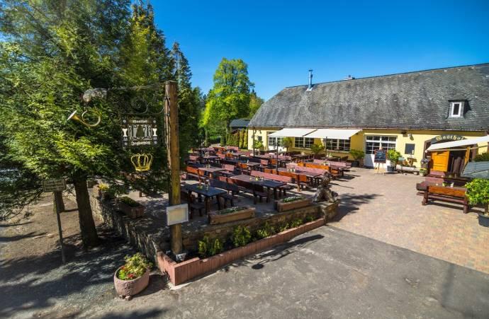 Außenbereich, Restaurant, Jagdschloss Platte, Wiesbaden