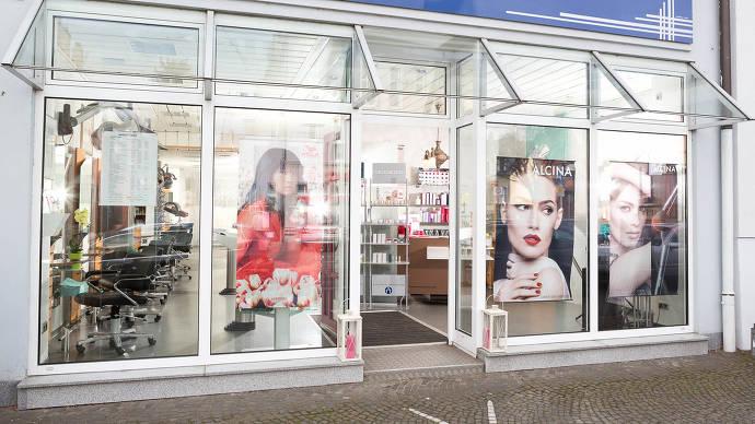 Friseur, Salon, Mainz, Gonsenheim, Außenansicht