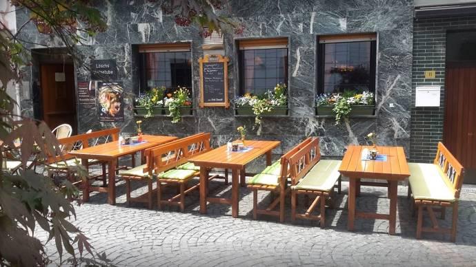 Fassade, Restaurant, Mainz