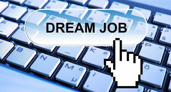 Dream Job, Computertastatur