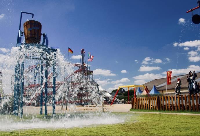 Wasser, Spielplatz, Kinder