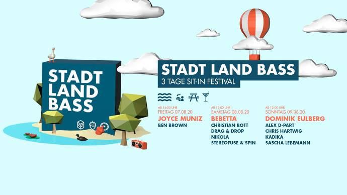 StadtLandBass Festivalbanner