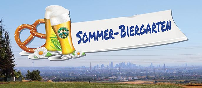 Neesletter Head - Sommer Biergarten