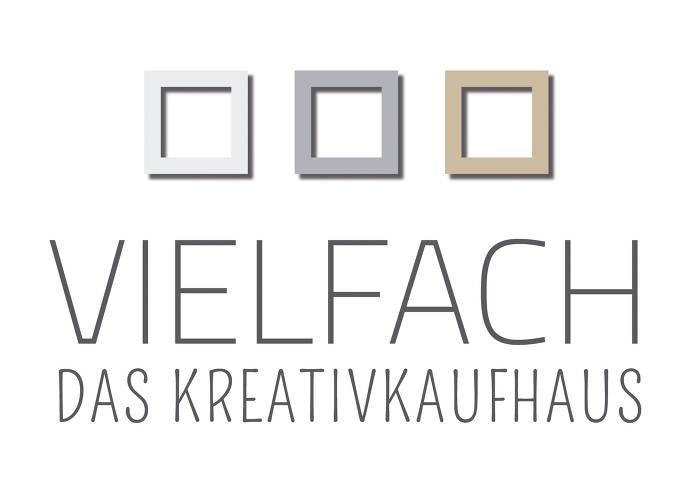 Logo des VIELFACH Kreativkaufhaus