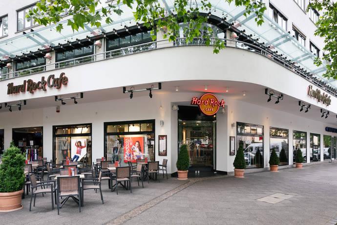 Aussenansicht des Hard Rock Cafe Berlin
