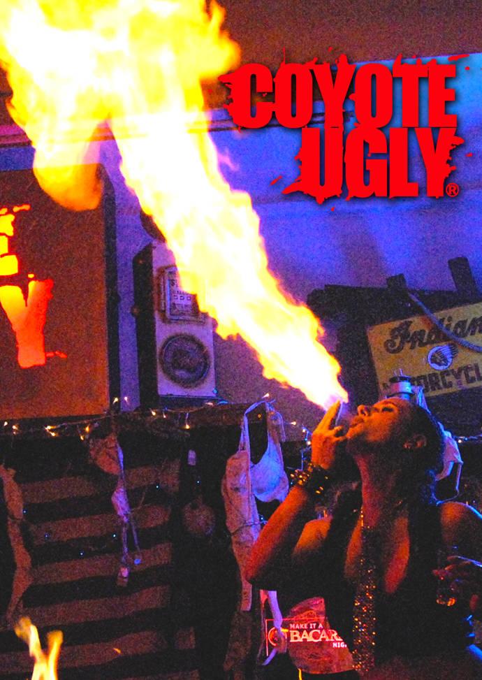 COYOTE UGLY Feuershow