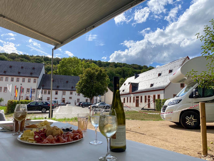 Camping in Kloster Eberbach