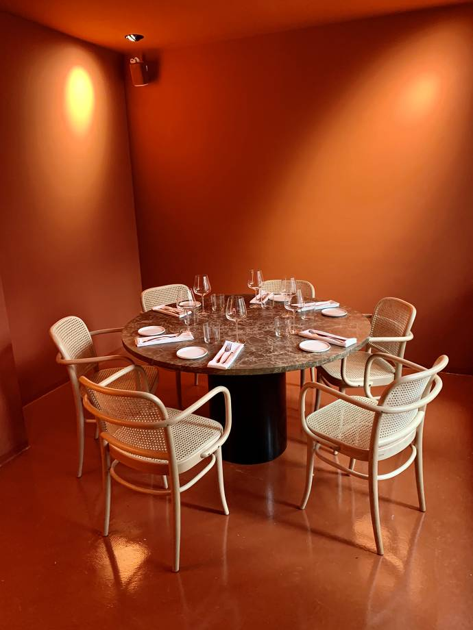 Innenbreich Elaine's Restaurant
