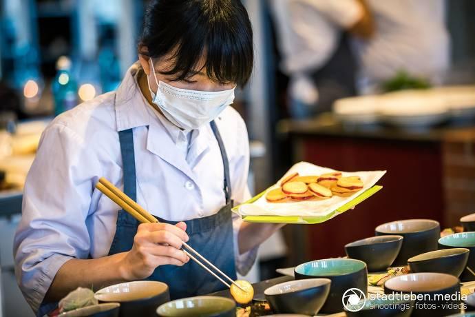 Wagyu-Rind und japanische Dorade