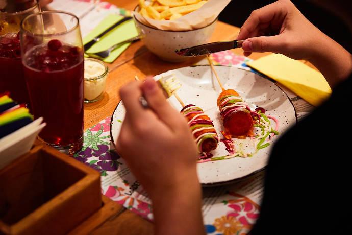 Speisen im VUNK FOOD