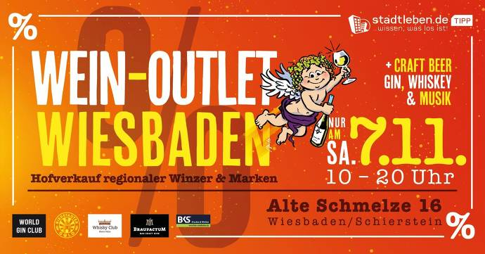 Wein-Outlet am 07.11.20