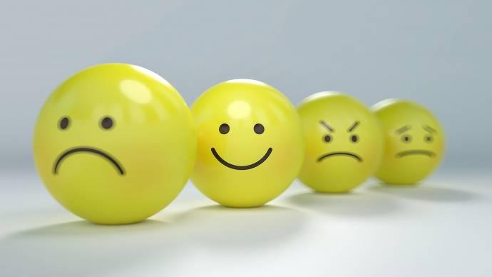 Emotionen Smiley
