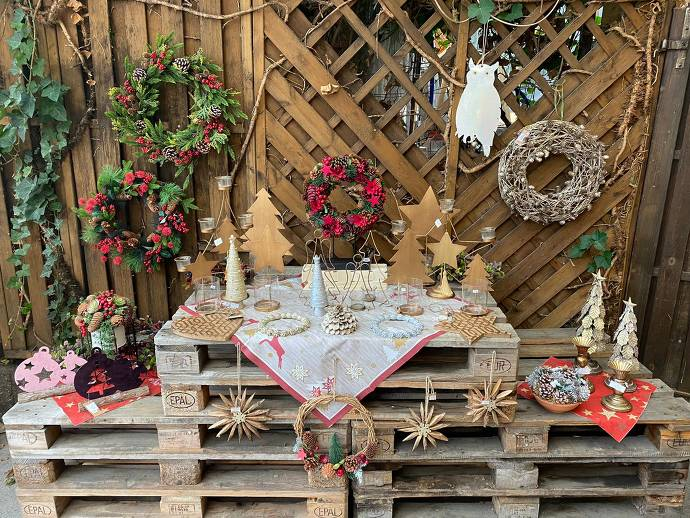 Weihnachtsmarkt Weingut Hemes
