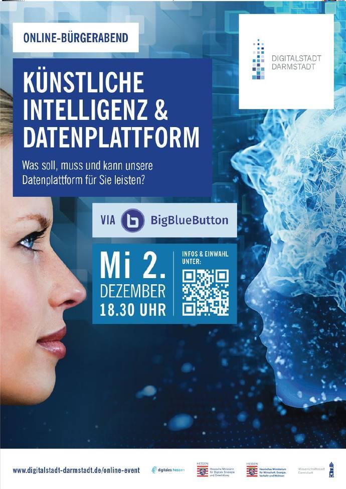 Flyer Online-Bürgerabend