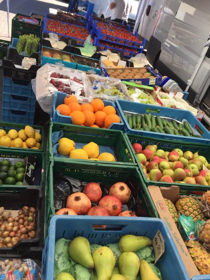 Birnen, Orangen, Granatapfel und vieles mehr