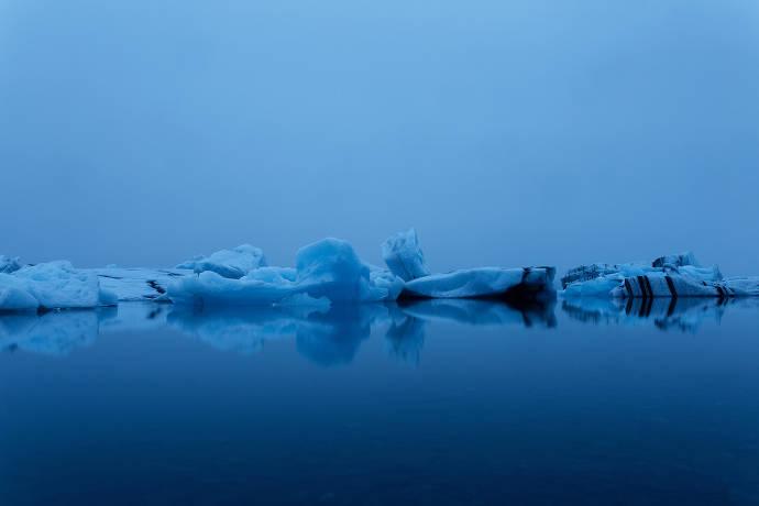 Fotografie Eis und Wasser