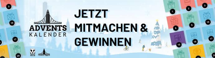 Frankfurt Tipp Adventskalender Banner