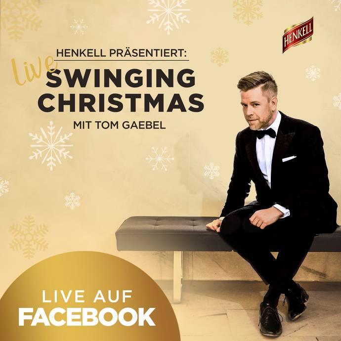 """Weihnachtskonzert """"Swinging Christmas"""" mit Tom Gaebel"""
