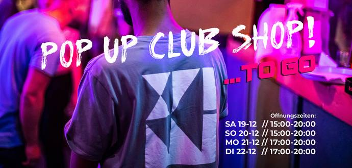 Pop Up Club Shop