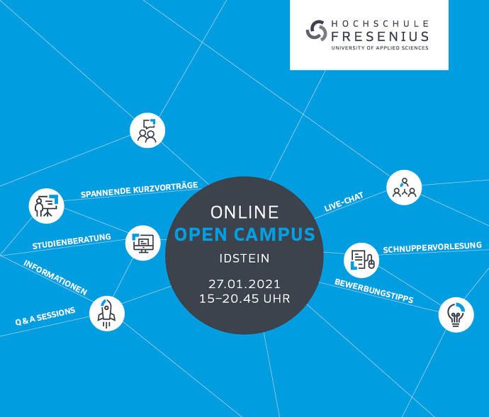 blau, Flyer, Informationen, Bewerbungstipps, Live-Chat