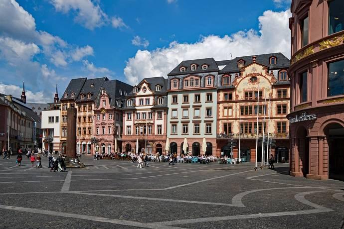Mainz, Innenstadt, Marktplatz, Rheinland-Pfalz