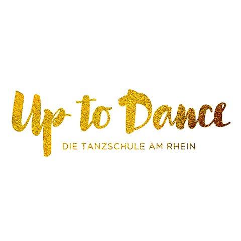 Logo, Up to Dance - Tanzschule am Rhein