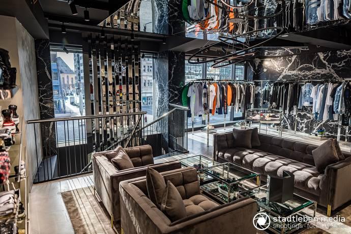 Geschäft, Mode, Frankfurt, Innenstadt, Goetheplatz, Innenansicht