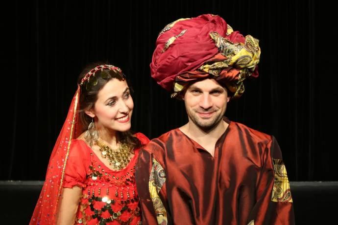 Schauspieler, Theater, Kostüme, Bühne