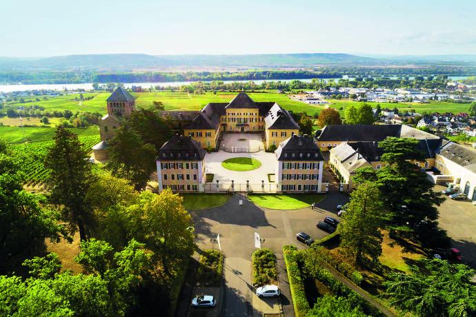Schloss Johannisberg Luftbild