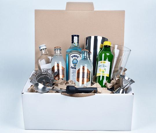 Karton, Box, Alkoho, Cocktail