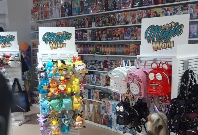Merchindise, Michas Magic World, Pokémon, Stofftiere, Rücksäcke, Figuren