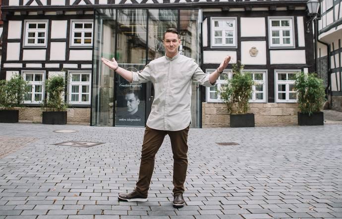 Nico Burkhardt, Koch, Fachwerk, Restaurant, Stadt