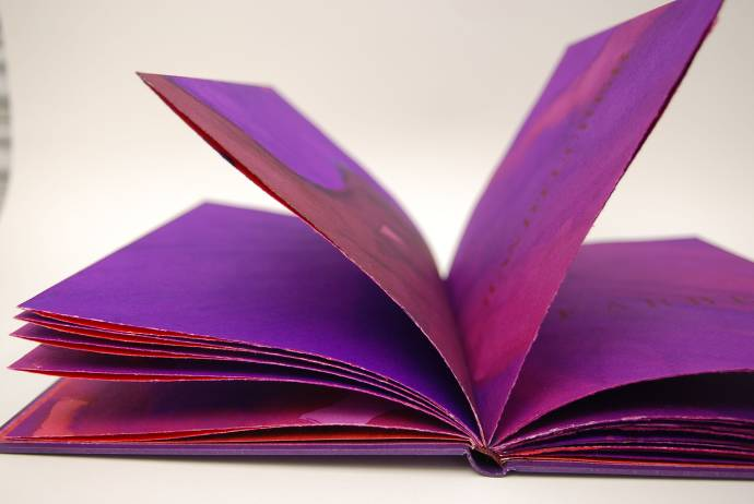 Künstlerbuch von Petra Ober