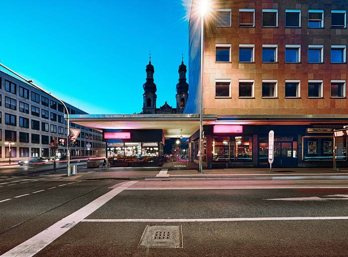 Außenansicht Kulturclub schon schön in Mainz