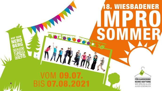 Flyer, grün, orange, Bühne, Neroberg, Turm, Schauspieler