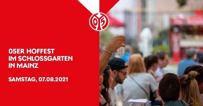 Flyer, rot, Mainz 05, Menschenmenge