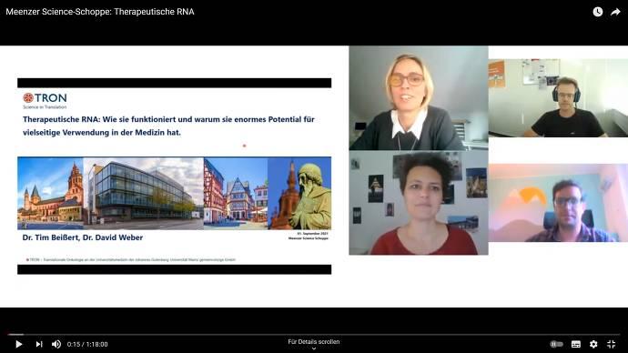 Screenshot, Onlinekonferenz