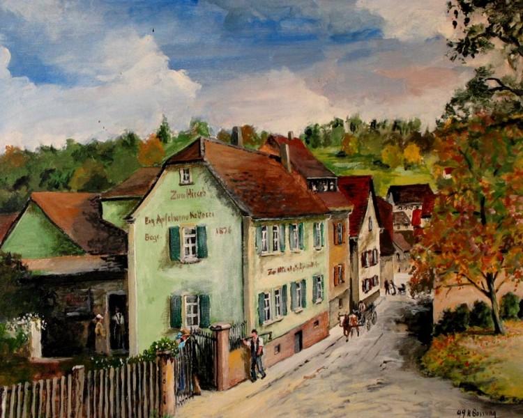 """Gasthaus """"Zum Hirsch"""" - Historie"""
