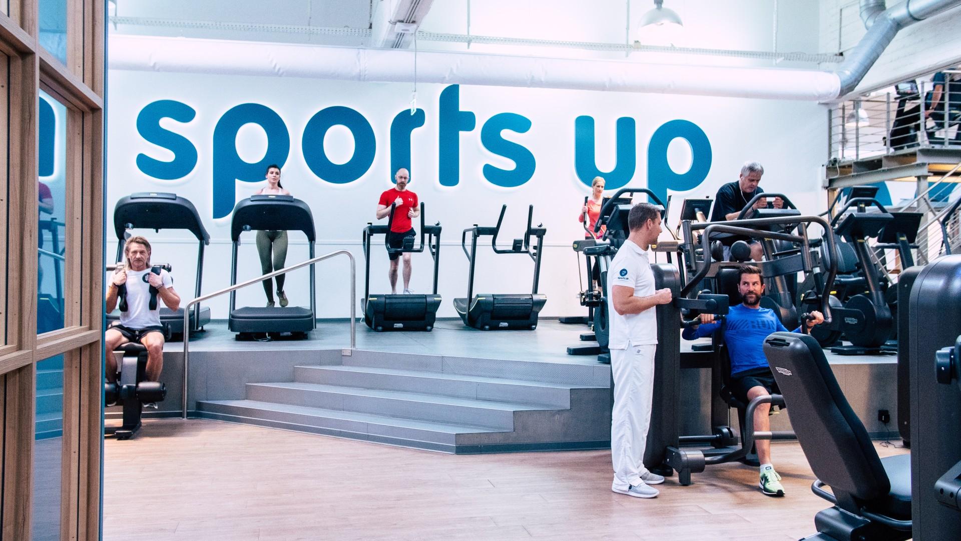 sports up - Deine Fitnesslounge