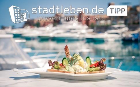 Wasser, Schiffe, Sandwich, Toast, Salat, Gurke, Fisch, Dill, Paprika