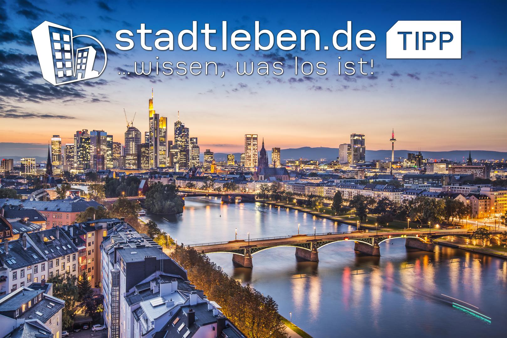 Skyline, Wasser, Main, Fluss, Gebäude, Frankfurt