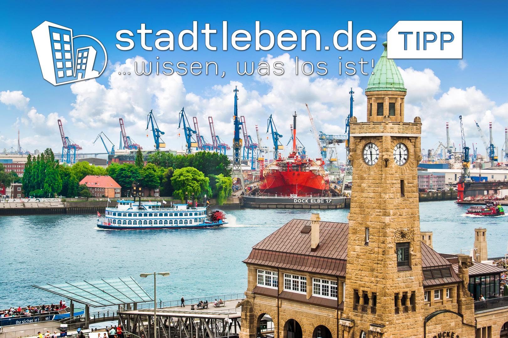 Hamburg, Hafen, Landungsbrücken, Elbe, Schiffe, Wasser
