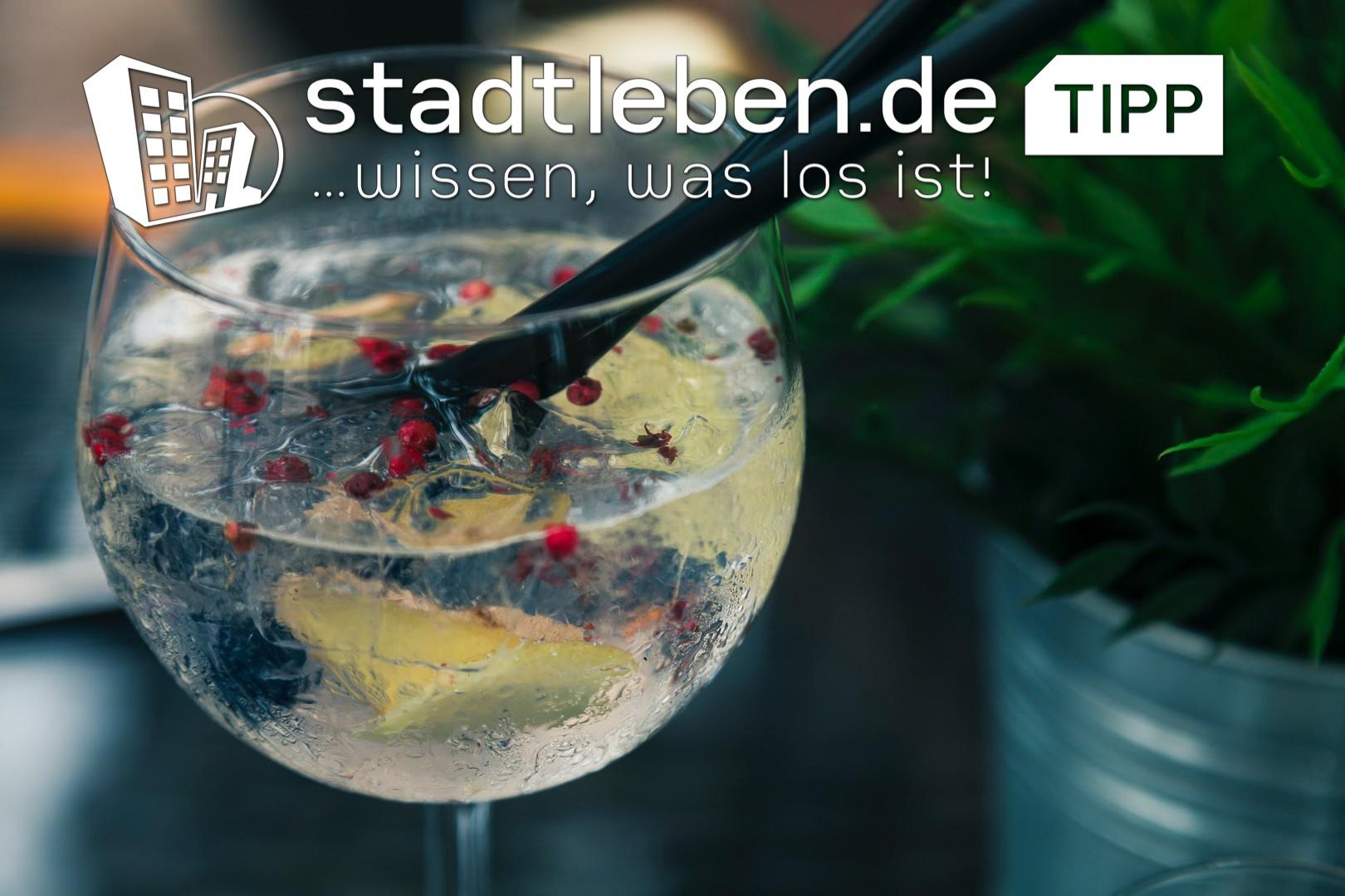 Gin, Glas, Halm, Getränk, Alkohol. Bar, Destillerie, Ausgehen, gemütlich, trinken