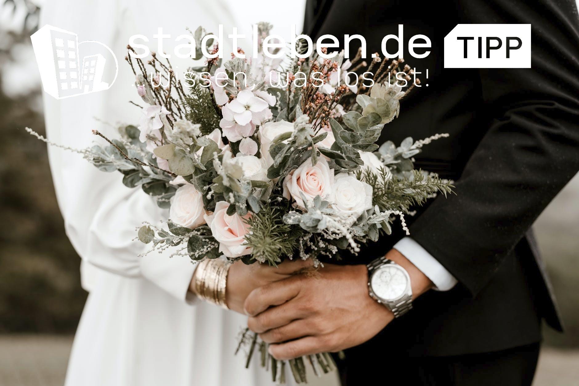 Strauß, Brautstrauß, Brautpaar, Mann, Frau, Hände